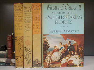 Winston S. Churchill - A History Of The English-Speaking Peoples 1-4 (ID:6000)