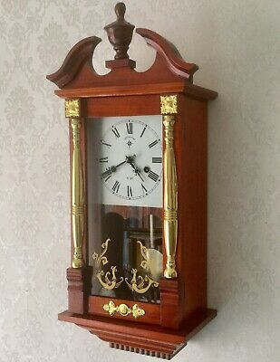 G.wood & Sons, 31 Day, Striking Mechanical Wall Clock - Working Order
