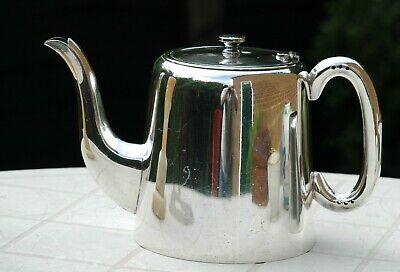 Antique Silver Plated A1 EPNS Hotel Ware Tea Pot 2.5 pints Country House Style
