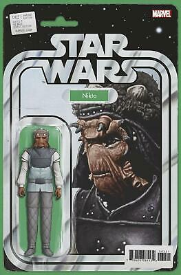 Star Wars #62 Nikto Action Figure Variant John Tyler Christopher Comic Book