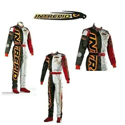 INTREPID Go kart racing  suit level ll approved free gifts included