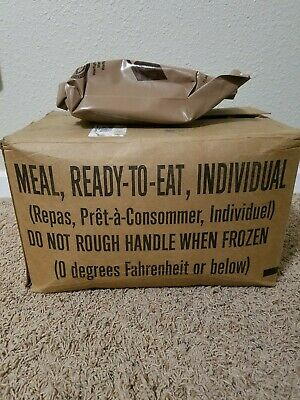 NEW 2022 U.S. Military MRE (Meal Ready to Eat) Individual Meals
