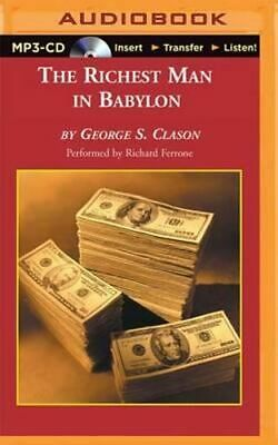 NEW The Richest Man in Babylon By George S. Clason CD in MP3 Format