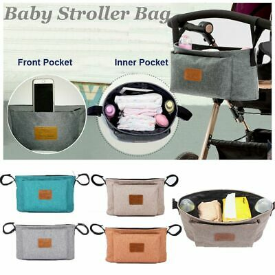 Baby Care Storage Hanging Bag Infant Baby Stroller Bag Pram Organizer