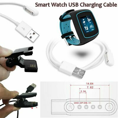 2/3/4 Pin Pogo Adapter USB Charging Cable Smart Bracelet Smartwatch Universal