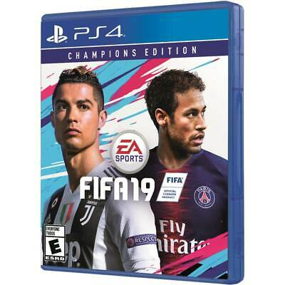 FIFA 19 Champions Edition PS4 Brand New FACTORY SEALED NEVER OPENED!