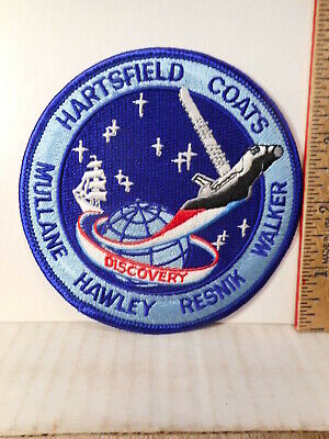 NASA Space Shuttle Discovery 41-D Mission Patch  BIGOF3.