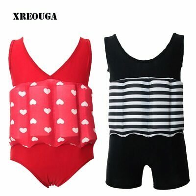 Floating Buoyancy Baby Boy/Girl Swimsuits Detachable  Swimming Float Suits