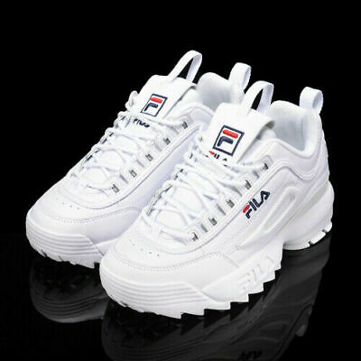 FILA DISRUPTOR LOW Scarpe Donna Ragazzo Sports Sneakers Running Basket Pelle A