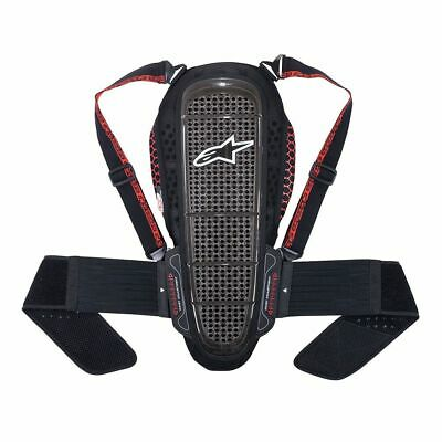 Alpinestars Black Red Nucleon KR-1 CE Certified Back Protector New