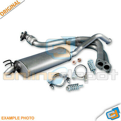 Mitsubishi Colt Smart Forfour 1.1i 1.3i from 2004 exhaust system silencer *3869