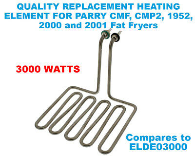 For Parry 1952 1952A 2000 2001 CMF CMF2 Fat Fryer Quality Heating Element 3000W