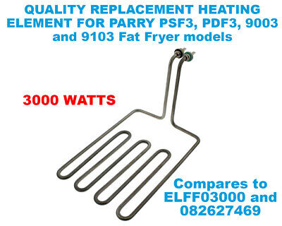 Quality replacement 3000W Heating Element for Parry Fat Fryers Eq. ELFF03000