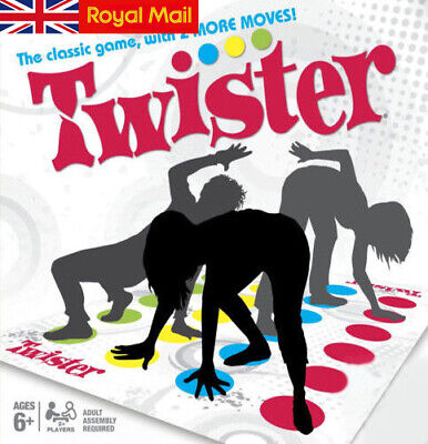 Twister Game Moves With Family 2 Kids The Funny Classic Body More Party Children