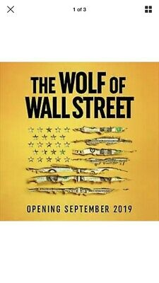 *Sold Out* Two Tickets For The Wolf of Wall Street Immersive Experience SAT 7pm