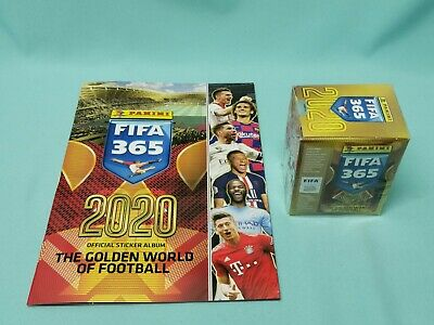Panini Fifa 365 2020 Sticker Sammelalbum + 1 x Display / 50 Tüten