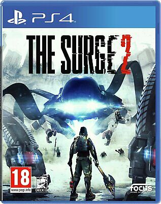 The Surge 2 Sony Playstation PS4 Game 18+ Years