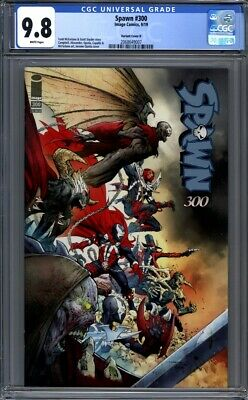Spawn #300  Jerome Opena Variant Cover H  Todd McFarlane  1st Print CGC 9.8