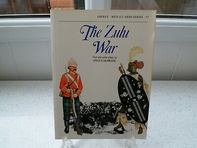 *OSPREY : MEN AT ARMIES SERIES ~ THE ZULU WAR* Paperback