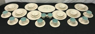 Taylor Smith & Taylor Boutonniere China Set Service for 8, 43pcs Total.