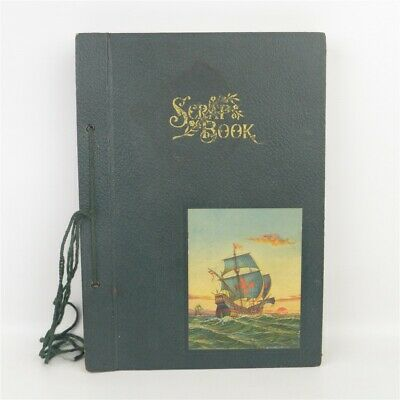 Antique 1930s Scrapbook South West United States Tourist 34 Photos Fishing +