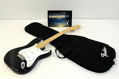 1990 Fender Eric Clapton Blackie Stratocaster Electric Guitar w/Fender Gig Bag