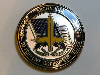 Archangel Los Angeles U.S. HS Office Challenge Coin