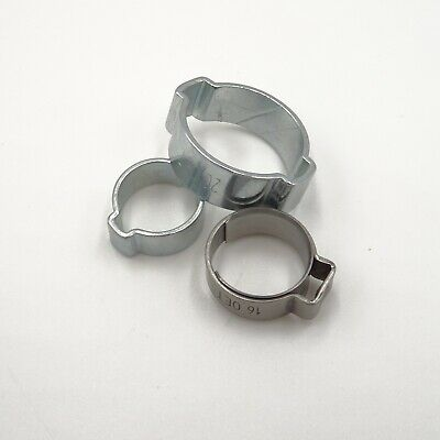 1 Ear 2 Ear Hose Clamps Hose Clamps Clamp Ear Clamp Stainless Steel