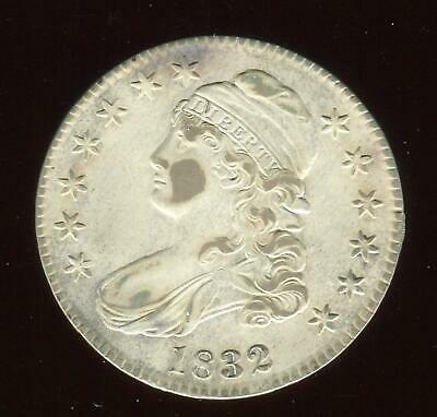 1832 Capped Bust Half Small Letters | Almost Uncirculated Plus | Philly | CP1971