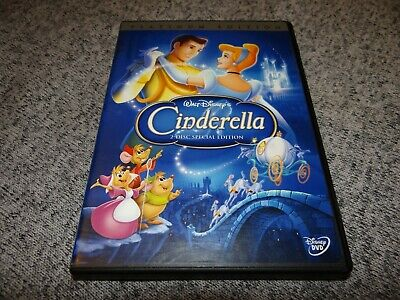CINDERELLA (DVD, 2005, 2-Disc Set, Special Edition Platinum Collection) w Insert