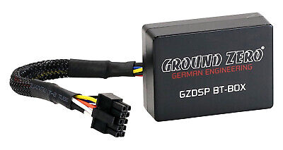 GROUND ZERO GZDSP BT-BOX Bluetooth Modul für GZDSP Verstärker
