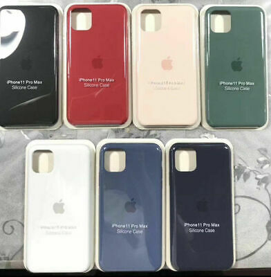 For Apple iPhone 11 Pro Max NEW Genuine Official Protect Case Silicone Cover UK