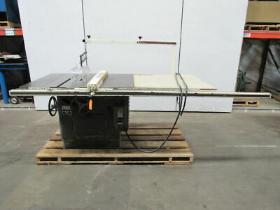 """Delta Rockwell 12""""-14"""" Tilting Arbor Saw Table Saw 5hp 230/460V 3ph"""