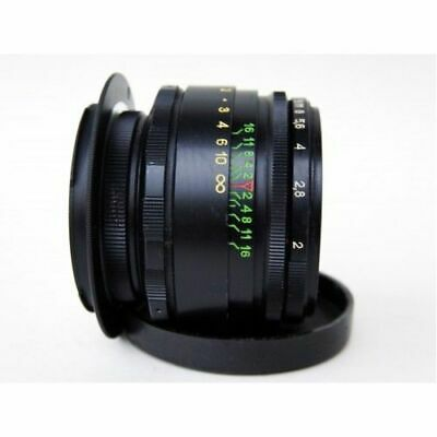 Perfect HELIOS 44-2 58mm F2 lens Canon EF EOS 2 years warranty 2 caps