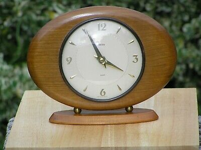 Smiths MANTEL CLOCK FLOATING BALANCE 1960's 8-Day Accurate Good Order Mantle