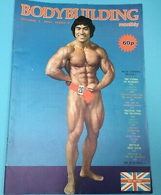 BODYBUILDING MONTHLY - May 1980 - Natashi Enomoto Front cover