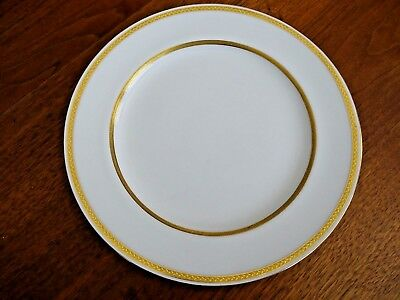 """Minton's  # G 8338  From Tiffany & Company Nyc Gold Trim 10 """" Dinner Plate"""