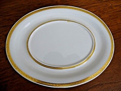 Minton's  Under Plate # G 9864  From Higgins And Seiter In Nyc White With Gold