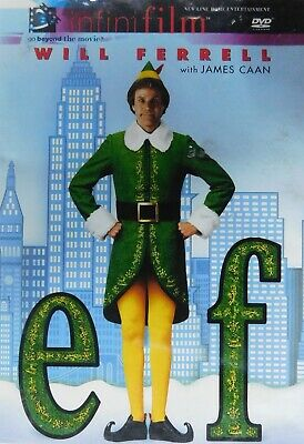 """24""""X36"""" ELF MOVIE POSTER PRINT WILL FERRELL AND JAMES CAAN NEW 2003"""
