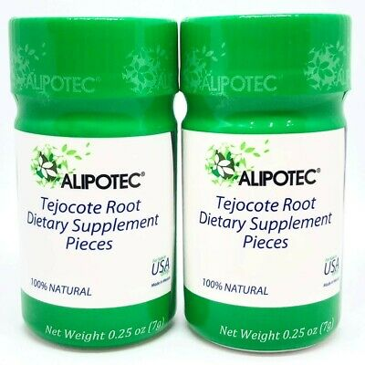 Alipotec Tejocote Root 2 Bottles 6 Month 180 Day Supply
