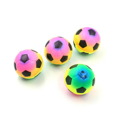 1PC Colorful Mini Football Squeeze Foam Ball Stress Relief Vent Ball Kids Toy`AU