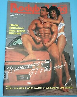 BODYBUILDING MONTHLY - July 1988  Gary Taylor & Andrea Cover