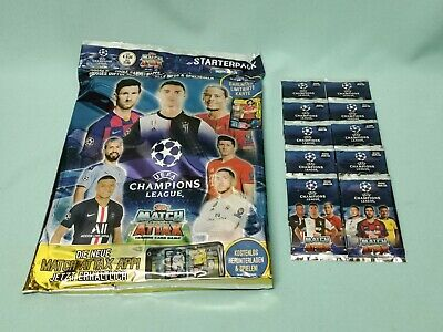 Topps Match Attax Champions League 2019/2020 Starterpack + 10 Booster 19/20