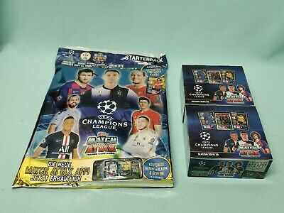 Topps Match Attax Champions League 2019/2020 Starterpack + 2 x Display 19/20
