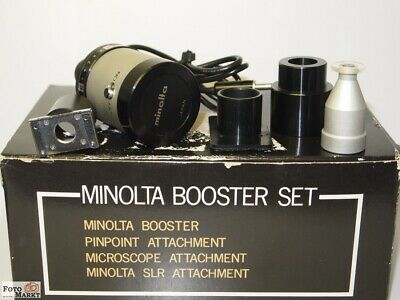 Minolta Booster Set (Microscope, Slr. Pinpoint) for Flash-Meter etc. Microscopes