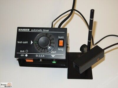 Kaiser Automatic Timer 4033 Photo Laboratory Magnifier Timer Laboratory Timer
