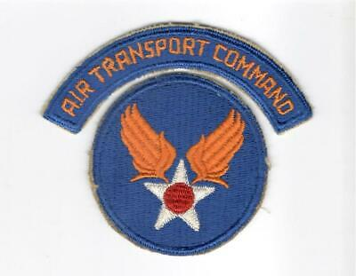 WW 2 United States Army Air Force Air Training Command Patch & Tab Inv# J251