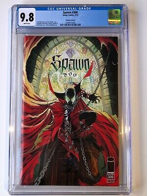 Spawn #300 CGC 9.8 J. Scott Campbell Variant Cover G 1st Print