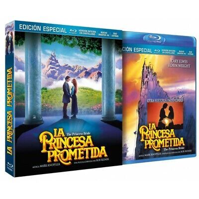 La Princesa Prometida BD + DVD de Extras 1987 The Princess Bride [blu_ray] [2019