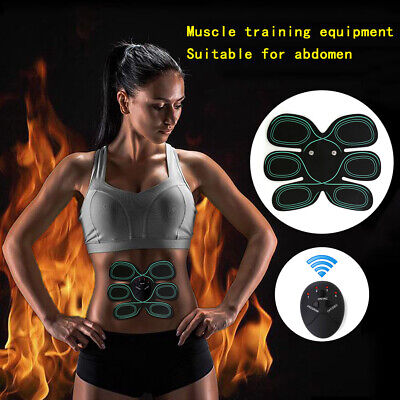 ABS Electric Simulator Training Abdomen Body Abdominal Muscle Exercise Safety CN